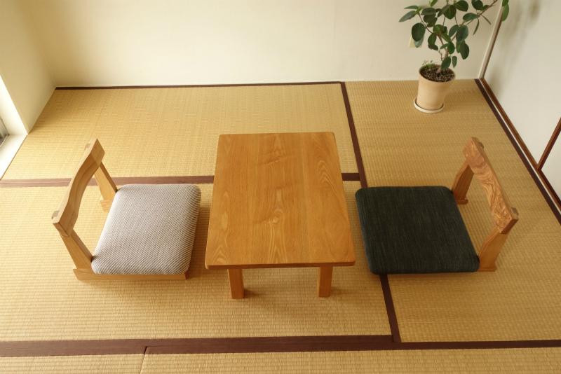 座卓と合せた様子-1